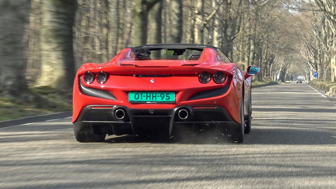 Ferrari F8 Spider Pure Sound Start Up Revs Accelerations Fly By Onboard Youtube