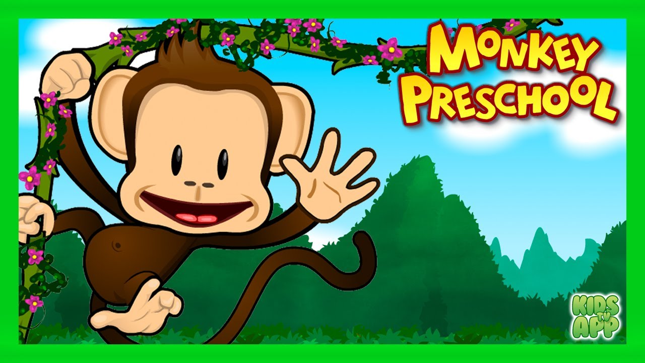 Preschool Monkey Learning Game for Kids - Numbers, Letters, Colors ...