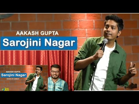 Sarojini Nagar | Excuse Me Brother | Stand-Up Comedy by Aakash Gupta | babaBro Reaction