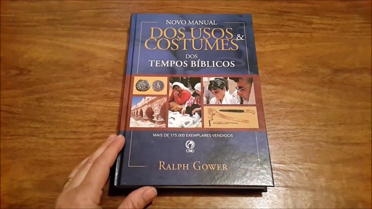 livro usos e costumes judaicos