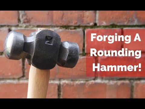 A Different Way to Forge a Rounding Hammer!