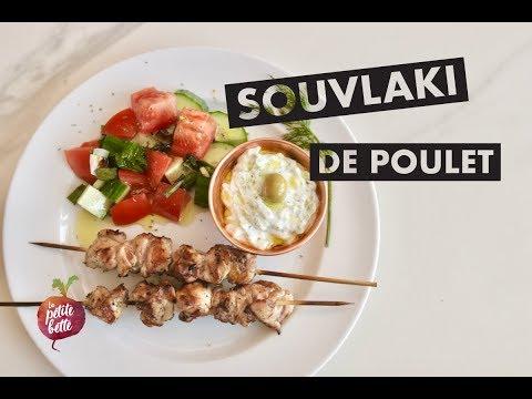 souvlaki-de-poulet---avec-sauce-tzatziki---recette-facile-(tuto)