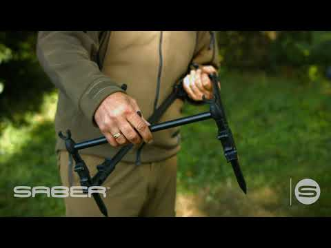Saber Tackle Lopro Rod Pod