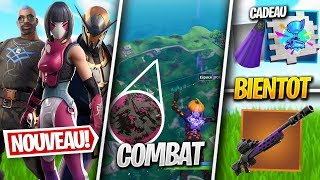 PRICE OF NEW SKINS, COMBAT LIEUX, DEFIS ULTIME EFFORT - More on FORTNITE! (Fortnite News)
