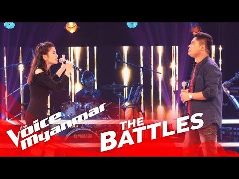 "Priscilla Htike vs. Thaw Di: ""Halo"" - The Battles - The Voice Myanmar 2018"