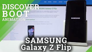 Boot Animation Samsung Galaxy Z Flip – Discover Loading Animation