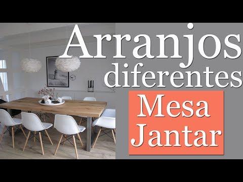 Inspirações Arranjos para Mesa Jantar Diferentes!! | Por Maryane Nunes