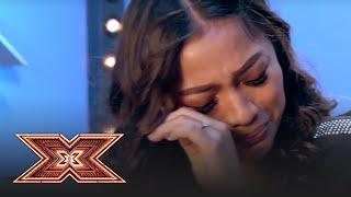"""Bella Santiago, în lacrimi la """"X Factor""""! Concurenta trimite bani pentru familia ei din Filipine"""