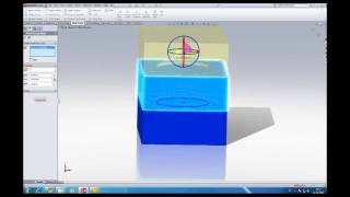 SolidWorks tutorial: extract core and create cavities from a part.