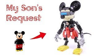 Gambar cover My Son's Request - Mickey Mouse Mech Suit