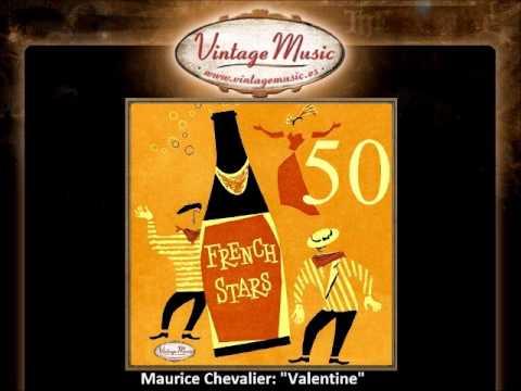 Maurice Chevalier - Valentine (VintageMusic.es)