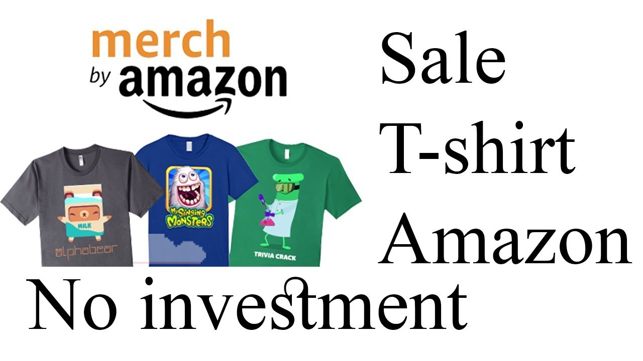Amazon merch t shirt selling in tamil earn online sell for Sell t shirt online