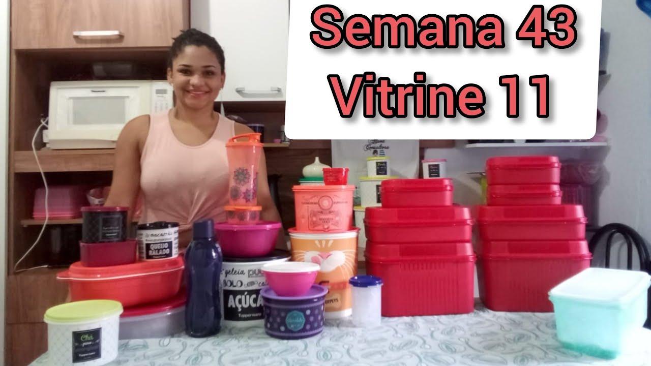 Abrindo Caixa Tupperware Semana 43 Vitrine 11 Youtube