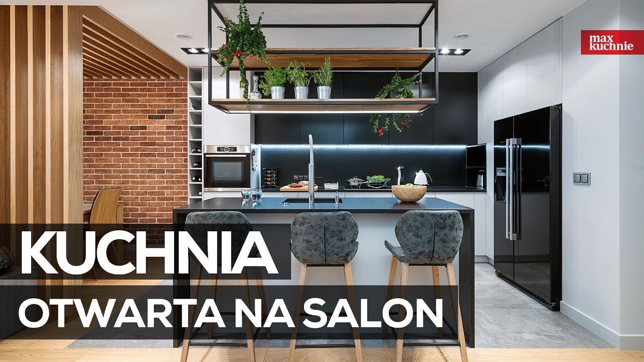 Kuchnia Otwarta Na Salon Max Kuchnie Studio Meble Wach Warszawa