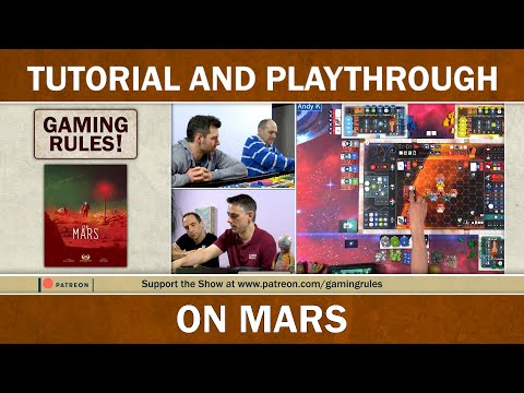 On Mars - Official Tutorial and Playthrough thumbnail