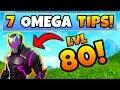 Fortnite Gameplay: 7 TIPS to get OMEGA LIGHTS/ARMOR! – Level 80 Skin Tricks (Battle Royale Update)