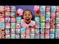 MASHEMS & FASHEMS OPENING! Toys For Kids Peppa Pig,Lightning McQueen,Paw Patrol,Disney Princess