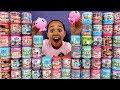 40 MASHEMS & FASHEMS OPENING! Peppa Pig,Lightning McQueen,Paw Patrol,Disney Princess Toys