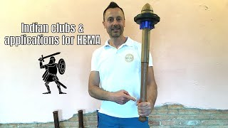 Wrist circles with Indian clubs for HEMA