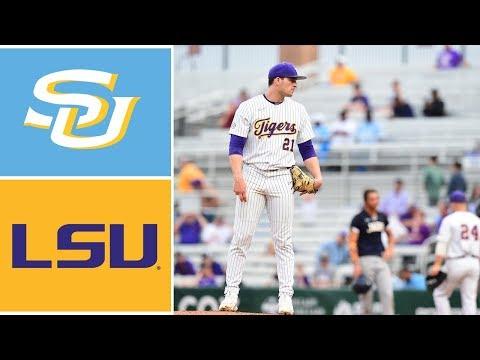 Southern Vs #12 LSU Highlights | 2020 College Baseball Highlights