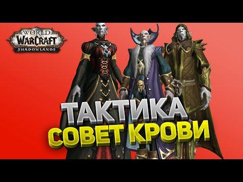 Совет Крови ⚔️ Замок Нафрия 🏰 Тактика нормал и героик 💀 World of Warcraft: Shadowlands