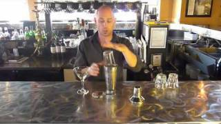 How To Mix Drinks In A Shaker | How To Strain Drinks - Bartending Tutorials