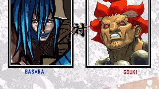 MUGEN: Basara(me) vs SF3:TS Shin Akuma