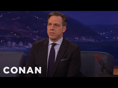 Jake Tapper On Interviewing Kellyanne Conway  - CONAN on TBS