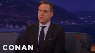 Jake Tapper On Interviewing Kellyanne Conway  - CONAN on TBS thumbnail