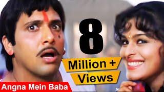 angna-mein-baba---govinda-shilpa-shirodkar-aankhen-dance-song