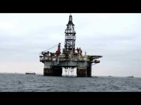 Marine oil plant