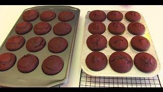 Bettys Romantic Red Velvet Cupcakes