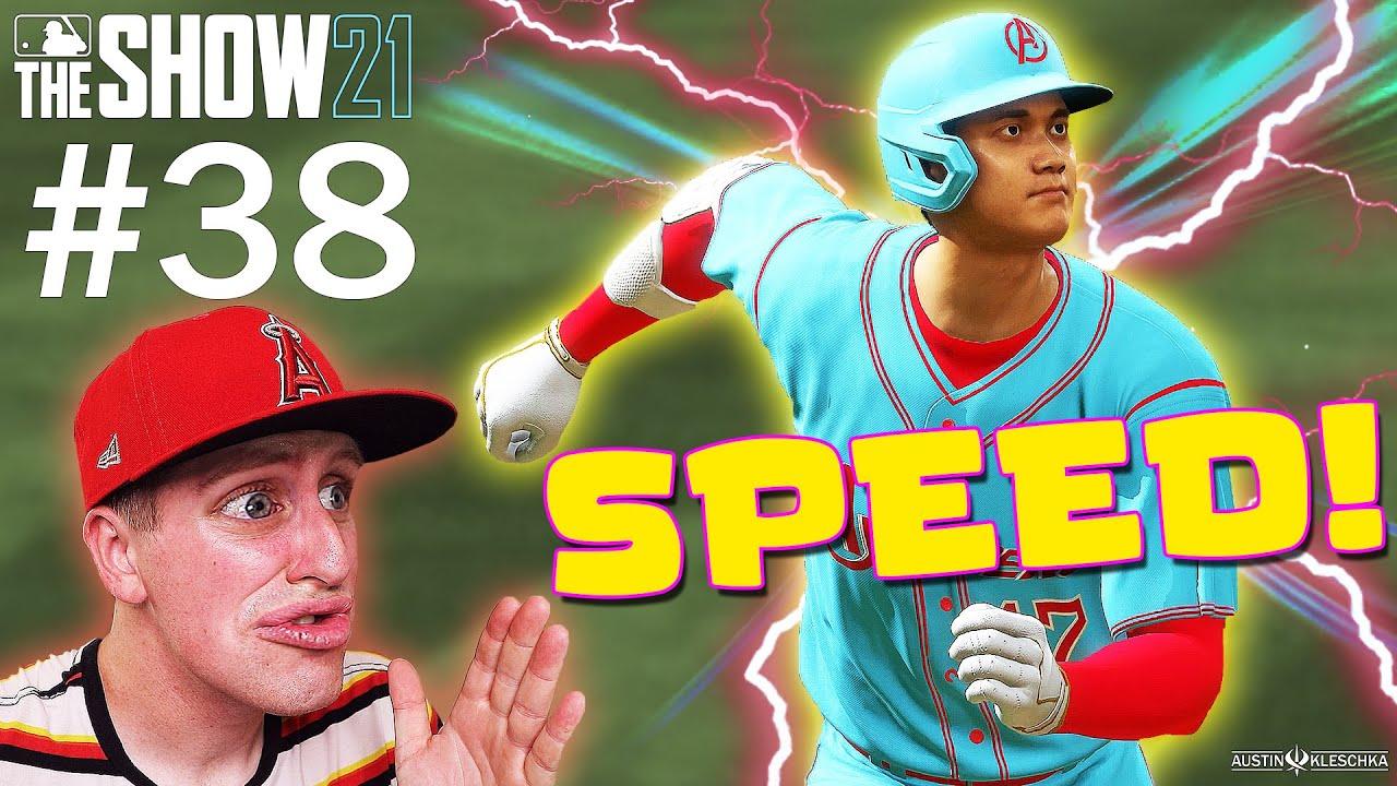 SHOHEI OHTANI HITS INSIDE-THE-PARK HOME RUN!   MLB The Show 21   Diamond Dynasty #38