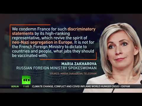 'Imperial hegemony & neo-Nazism' | Moscow slams France over calls to reject Russian vaccine