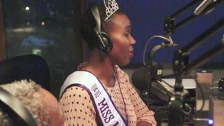 Miss Minnesota Plus America Thandisizwe Jackson-Nisan at Soul Tools Radio 90.3 (6-11-16)