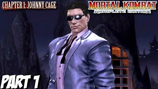 Mortal Kombat Komplete Edition Story Mode Part 1 - Chapter 1: Johnny Cage (PC, PS3, Xbox 360)