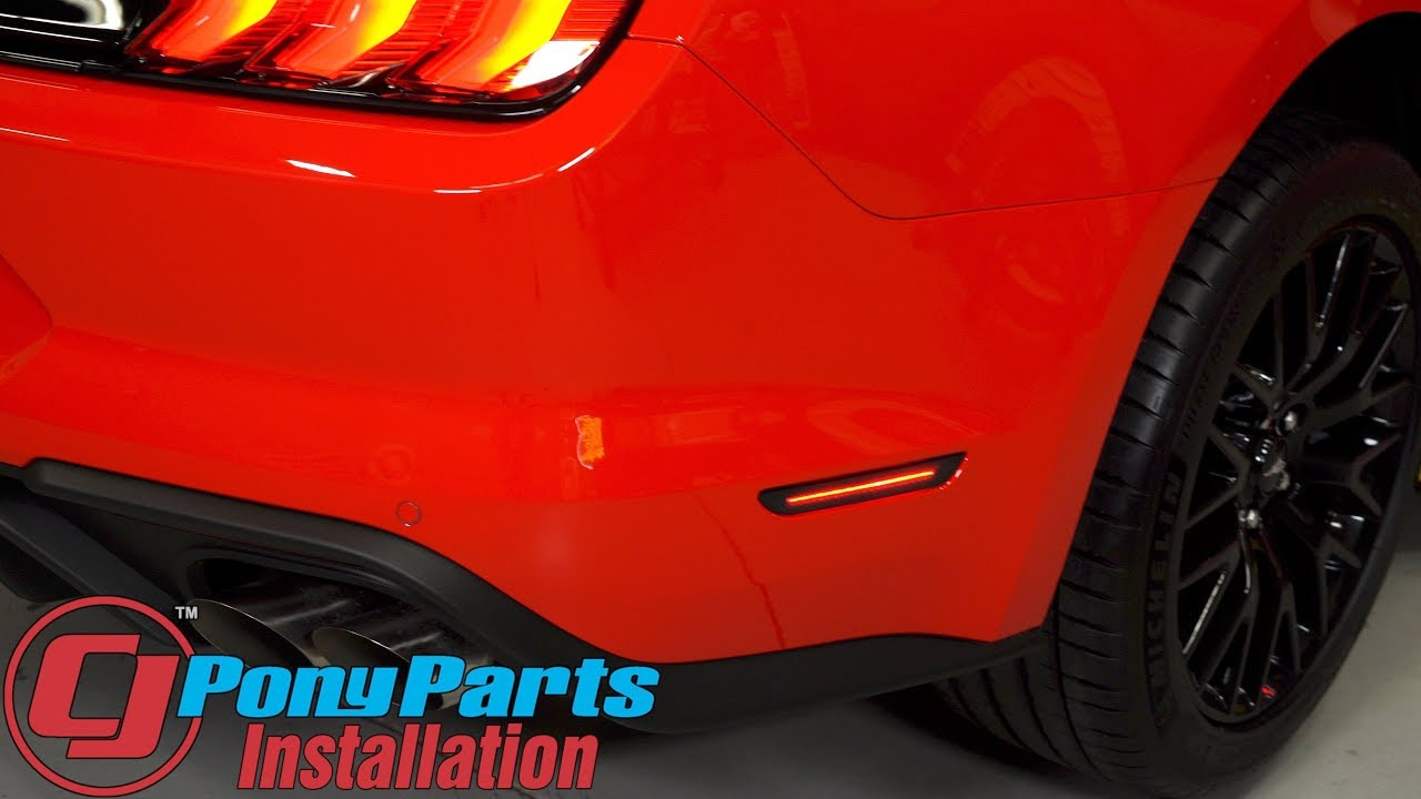 2018 Mustang Diode Dynamics Led Side Marker Light Smoked