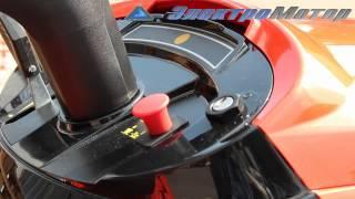 Минитрактор садовый для газона oleo-mac, яркая штучка(В данном видео представлена модель мини-трактор, косилка Oleo-mac om 91 plus/14.5 k. Подробнее про даный трактор смотри..., 2012-06-07T12:38:06.000Z)