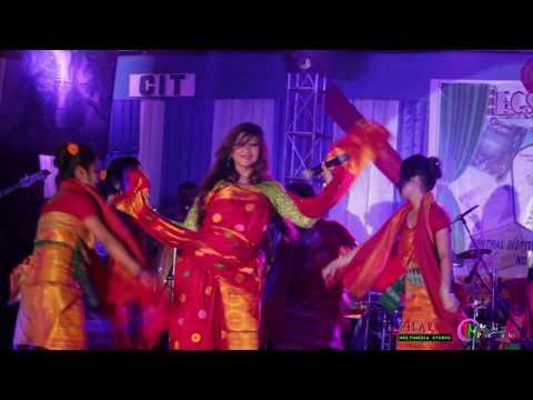 Anaya Brahma Live At CIT Kokrajhar - Bodo Video