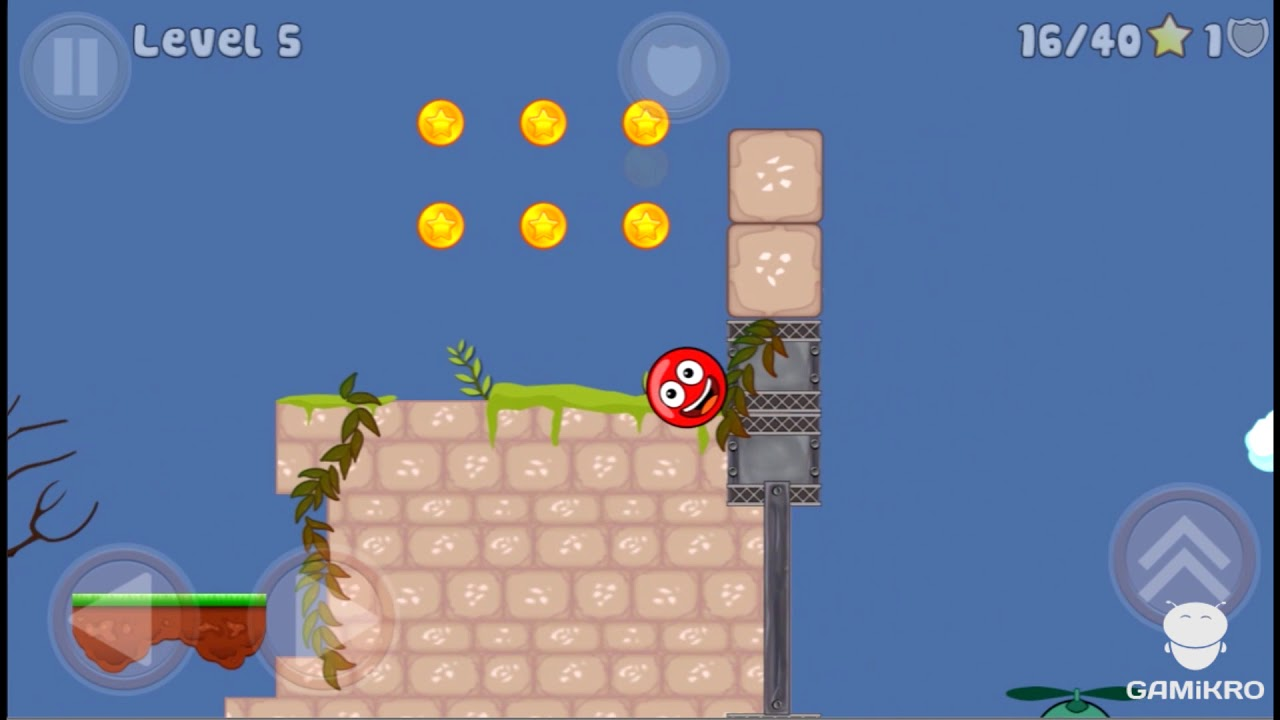 New Red Ball 2 - Level 5