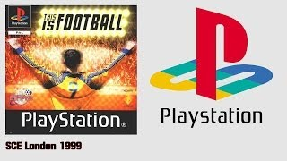 This Is Football (PS1)(1999) Intro + Gameplay England V France