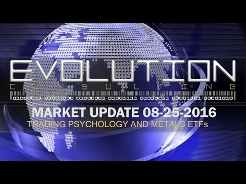 MarketUpdate   08|25|2016 | Trading Psychology And Metals Markets