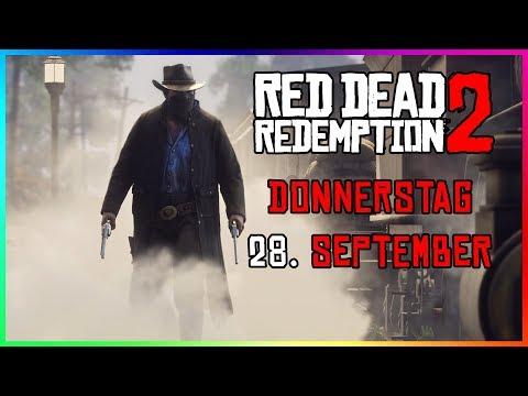 NEUE RED DEAD REDEMPTION 2 INFOS! | NEUER TRAILER, RELEASE DATE & MEHR AM 28. SEPTEMBER?!