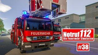 NOTRUF 112 #38: Spielplatzbrand - Einsatz für die FEUERWEHR BERLIN! I Feuerwehr-Simulation