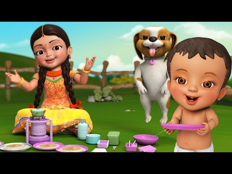 Dosamma Dosa | Telugu Rhymes for Children | Infobells
