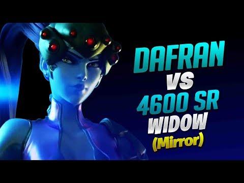 Dafran vs 4600 SR Widowmaker Mirror! - Dafran Widowmaker 1 vs 1 Ep  1