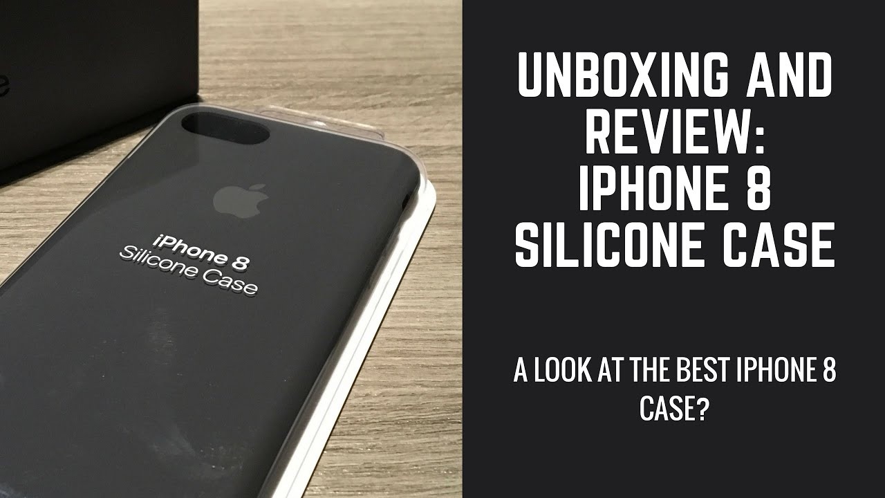 quality design fbde5 602cf iPhone 8 Silicone Case Unboxing And Review (Best iPhone Case Ever?)