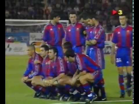 SD Compostela vs  FC Barcelona 1996 1997 partido completo