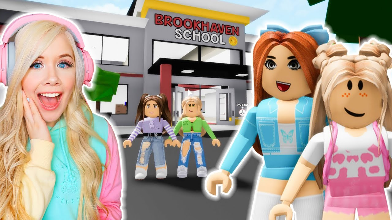 Download MEETING MY BEST FRIEND AT SCHOOL IN BROOKHAVEN! (ROBLOX BROOKHAVEN RP)