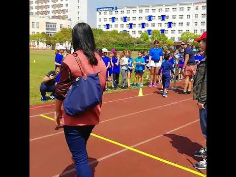 Cross du campus de Pudong avec l'école de Aiju - avril 2018